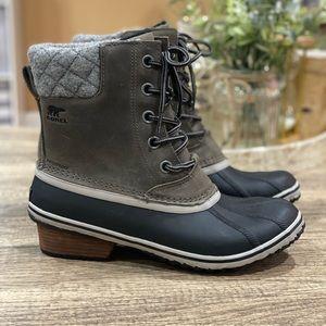 Sorel Slimpack II Winter Snow Rain Boots size 10.5